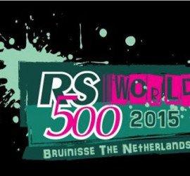 Logo de la nouvelle édition du Mondial RS500 à La Bruinisse (NED) Aquavitesse 2015….
