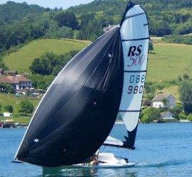 Balade en Baie de Hyères en 500 Solo !