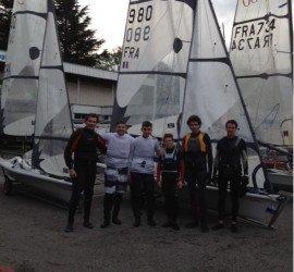 «Coaching» groupe dériveur Fast Rhône-Alpes au C.N.V.Aix les Bains 16/11.