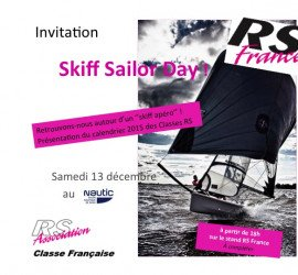 Invitation « Skiff Sailor Day » Nautic de Paris le 13 Decembre…