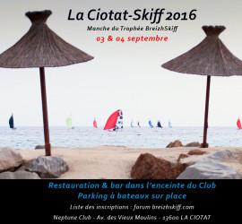 La Ciotat Skiff 2016 du 03 au 04 Sept, venez nombreux !